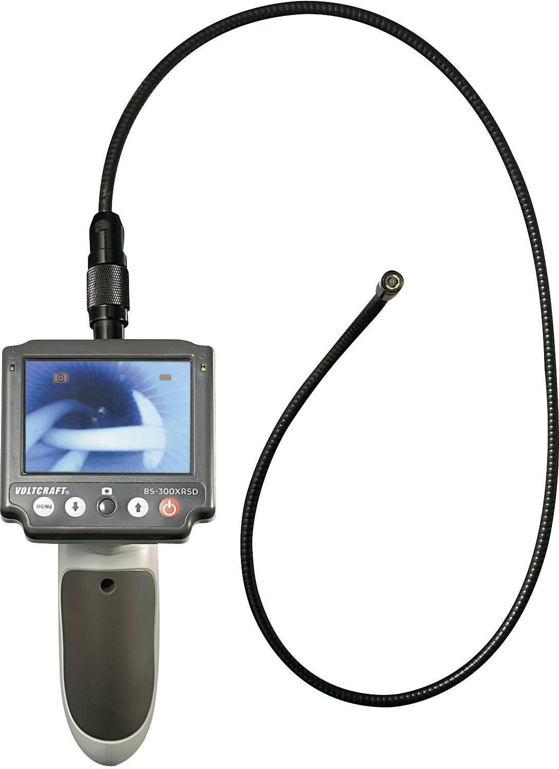 Endoskop s odnímatelným displejem VOLTCRAFT BS-300XRSD, Ø sondy 8 mm, délka sondy 183 cm