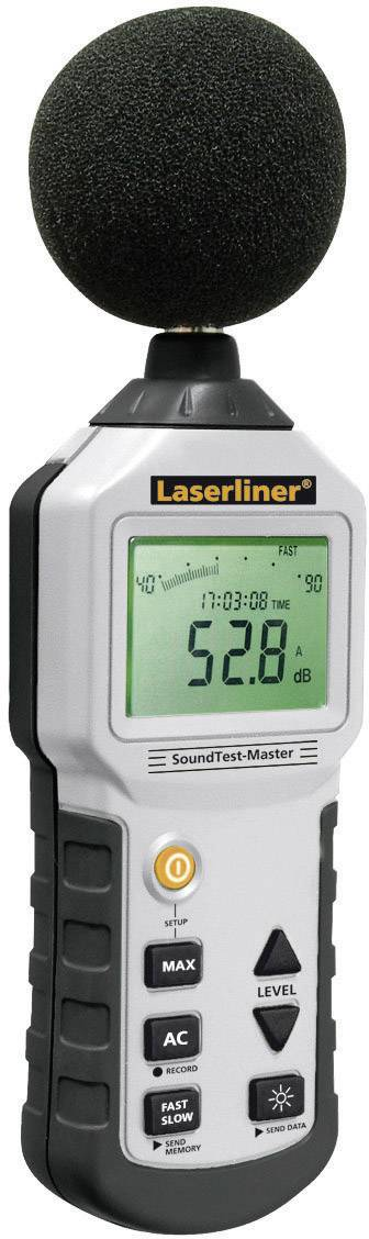 Hlukoměr s dataloggerem Laserliner SoundTest, 31,5 - 8000 Hz