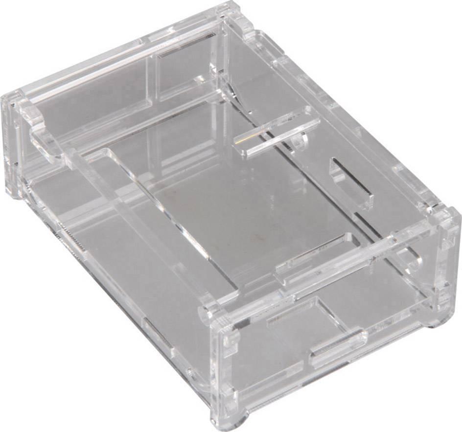 Kryt Raspberry Pi B++ Raspberry Pi® Acryl RB-Case+01 RB-Case+01, transparentní