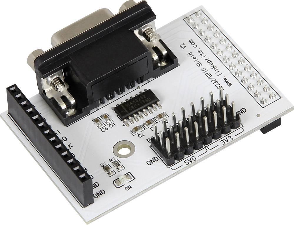 Rozšiřující deska Raspberry Pi B++ Breakout Kit RS232 RB-RS232