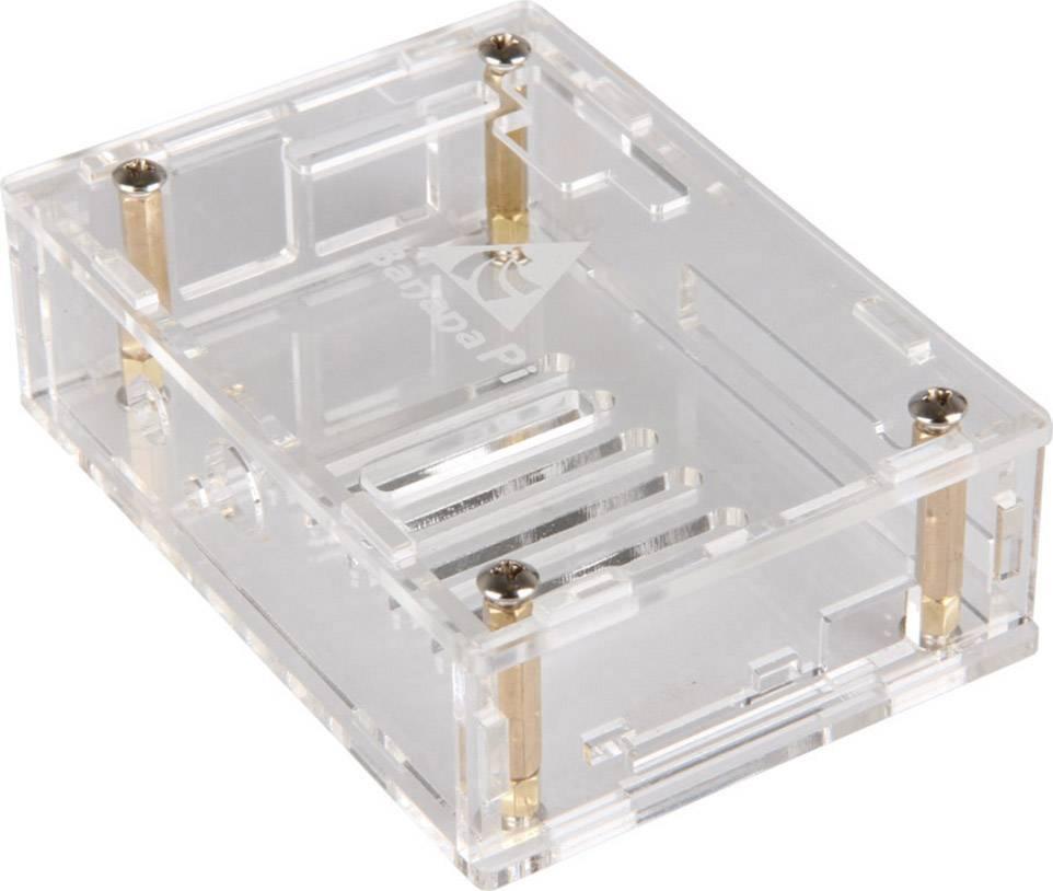 Plastové puzdro Banana Pi-Case01, transparentné