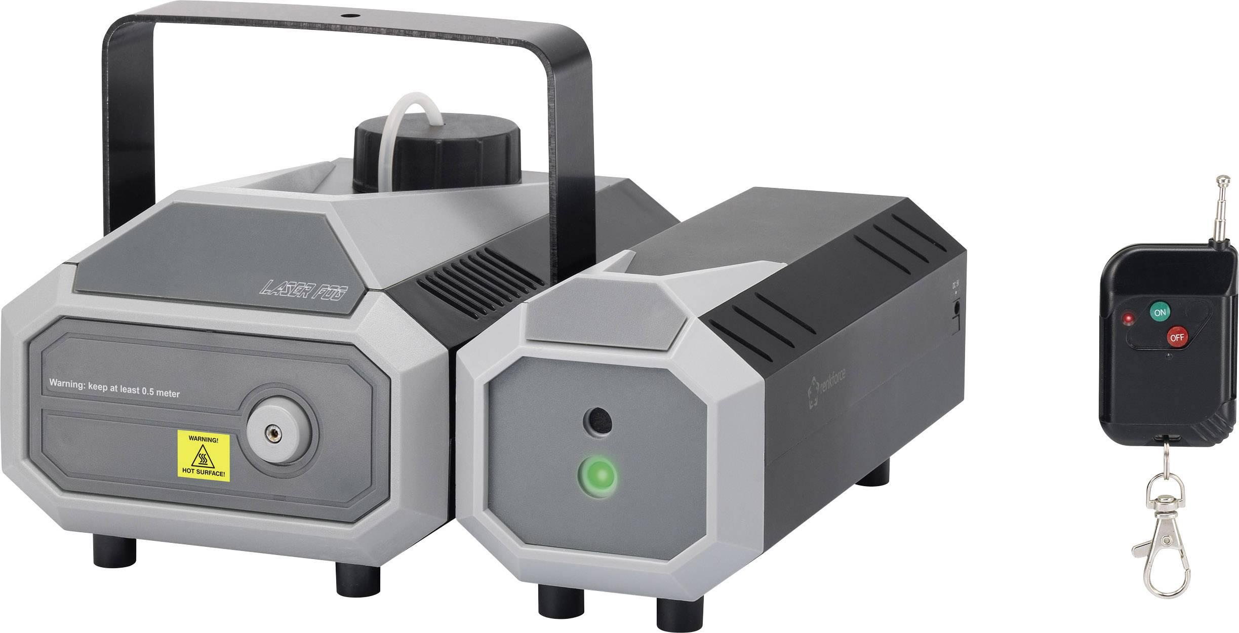 Laserový efekt a výrobník hmly Renkforce FL-01RG