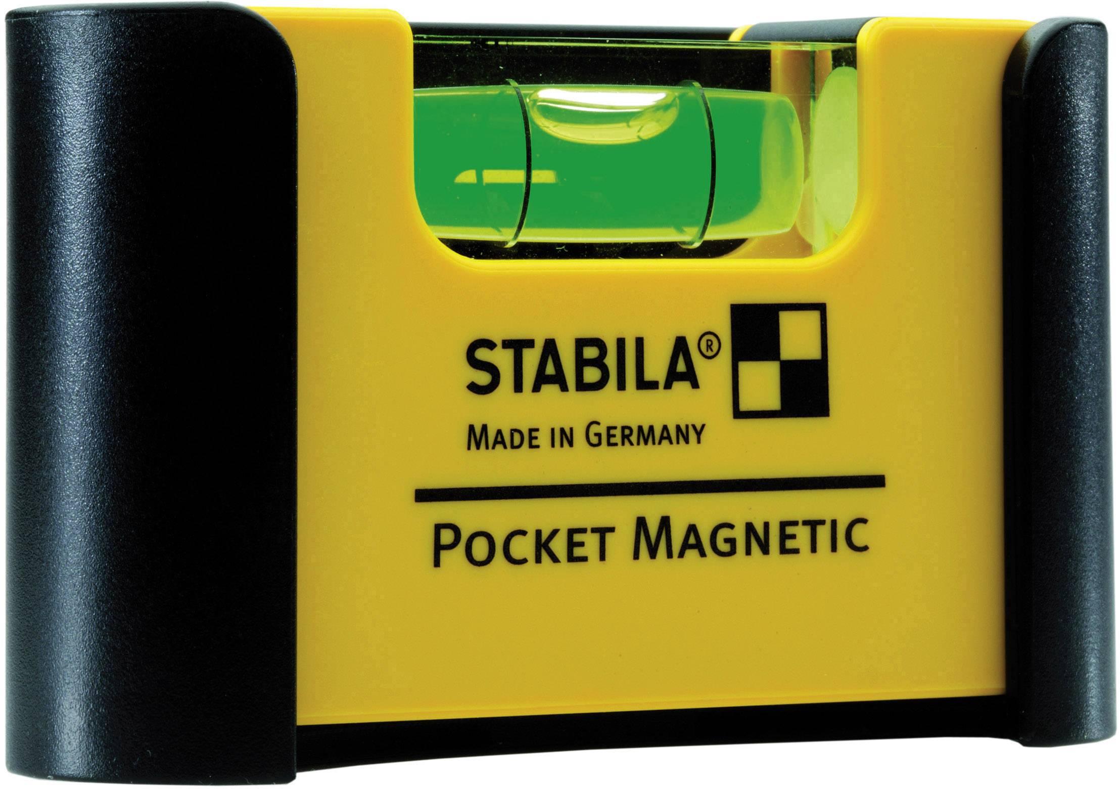 Mini vodováha Stabila Magnetic 18116, 7 cm