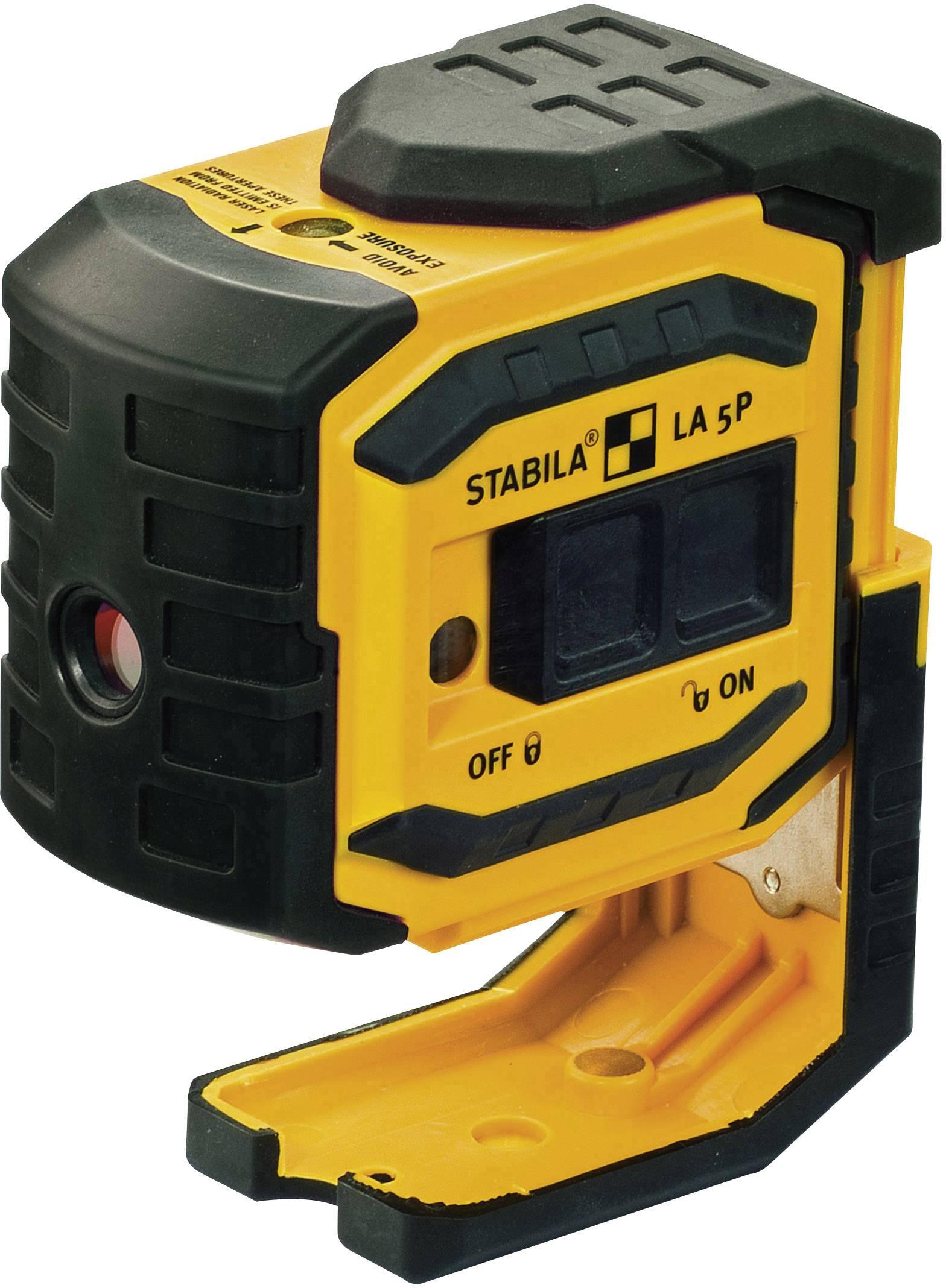 Bodový laser samonivelační Stabila LA-5P, dosah (max.): 30 m, Kalibrováno dle: podnikový standard (bez certifikátu) (own)