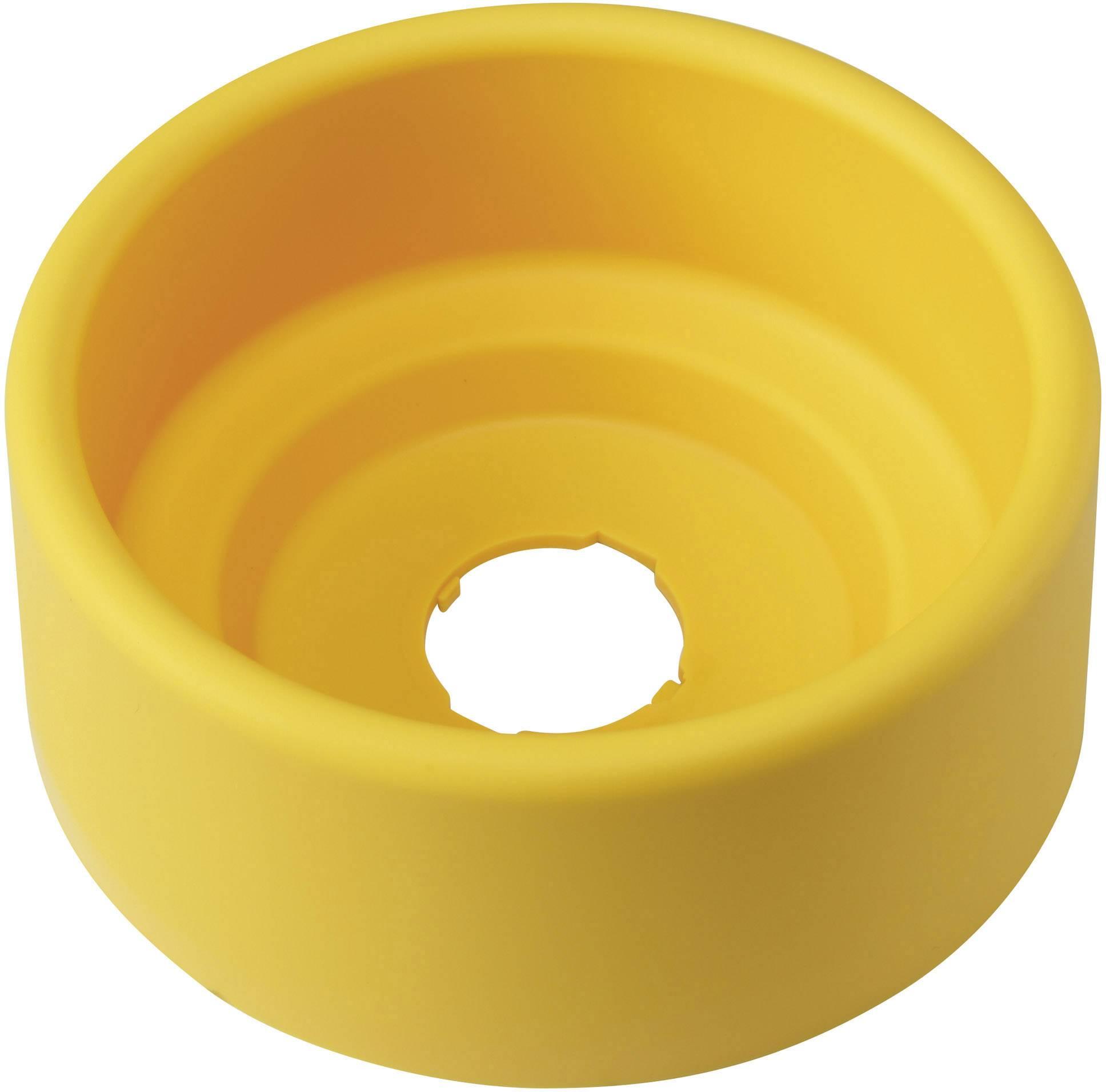 Ochrana tlačítka okrúhly, (Ø x v) 90 mm x 36.5 mm DECA A29Z-KG2 1233800, žlutá, 1 ks