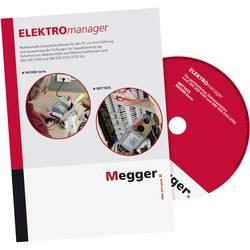 Software pro PC ELEKTROmanager® 9, licence Megger DE-SW-EM9-VER DE-SW-EM9-VER