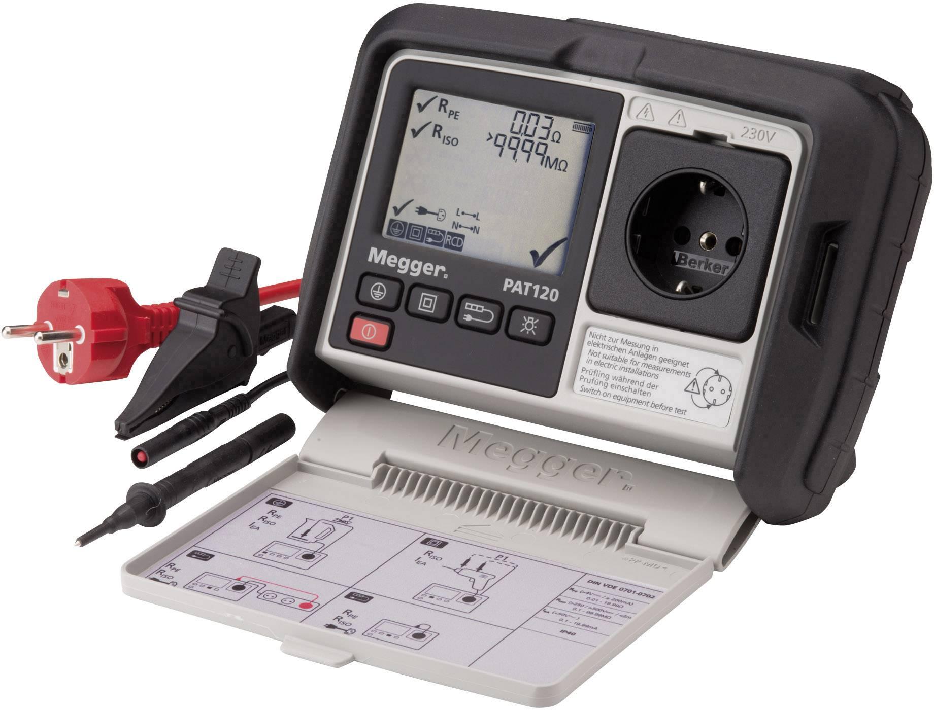 Revizní přístroje Megger 1003-066