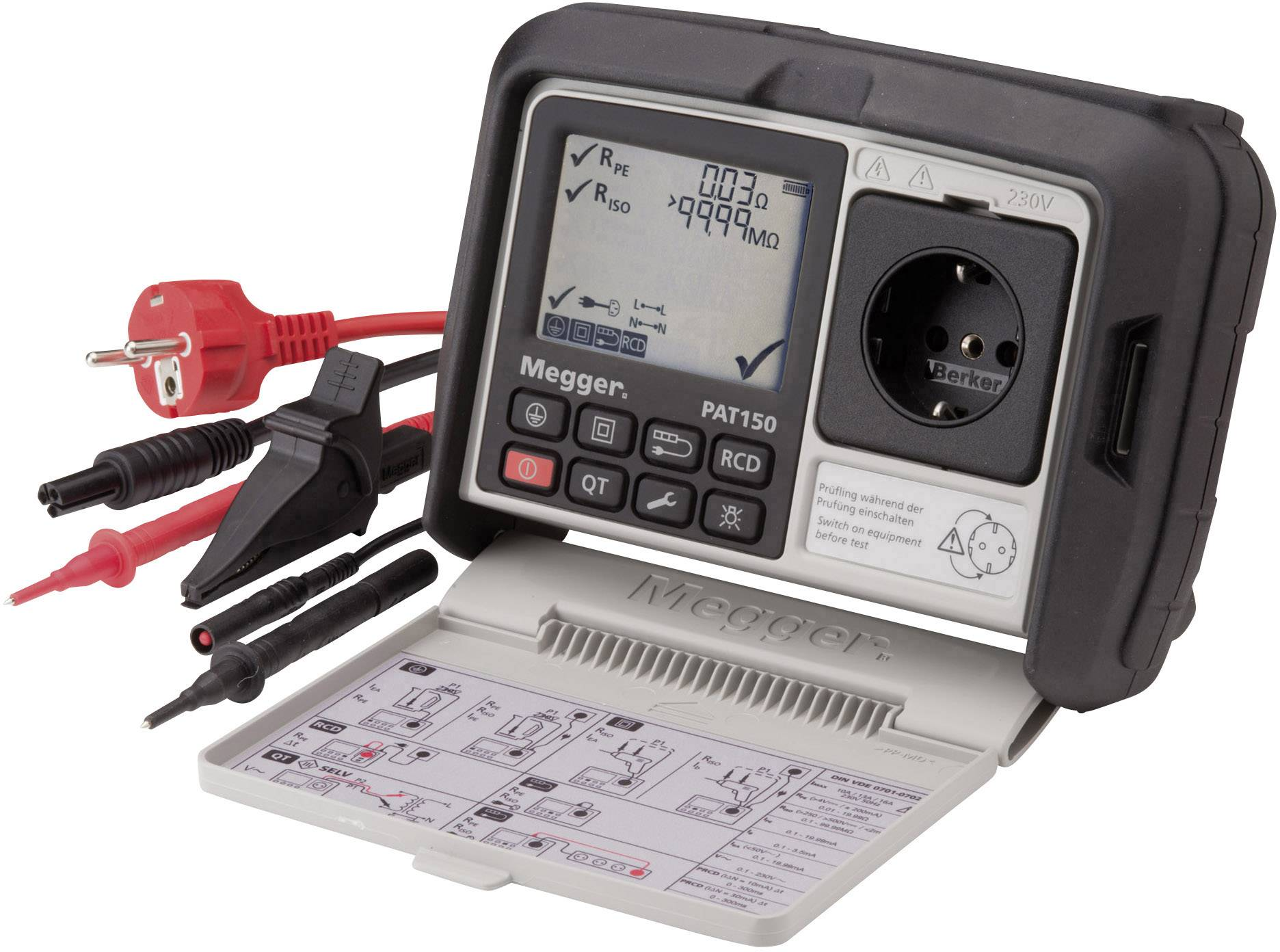 Revizní přístroje Megger 1003-068