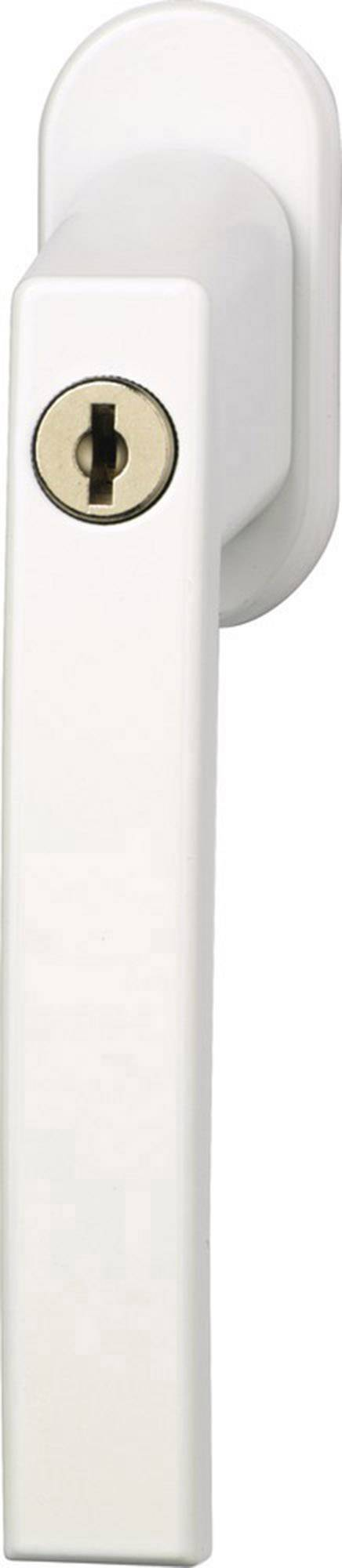 Okenní klika uzamykatelná bílá ABUS ABFS30215