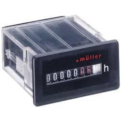 Počítadlo provozních hodin Müller BG3018 12-48V DC