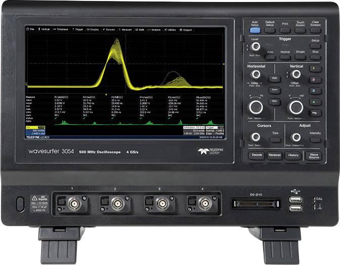 Digitálny osciloskop Teledyne LeCroy WaveSurfer 3034, 350 MHz, 4-kanálový