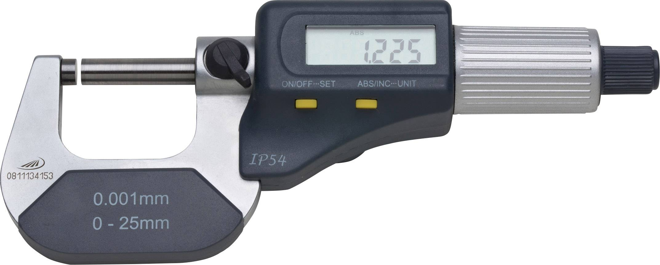 Digitální třmenový mikrometr HELIOS PREISSER 0912501