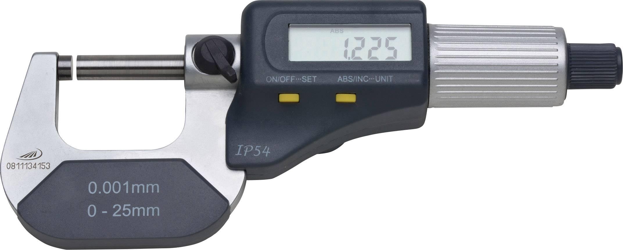 Digitální třmenový mikrometr HELIOS PREISSER 0912504