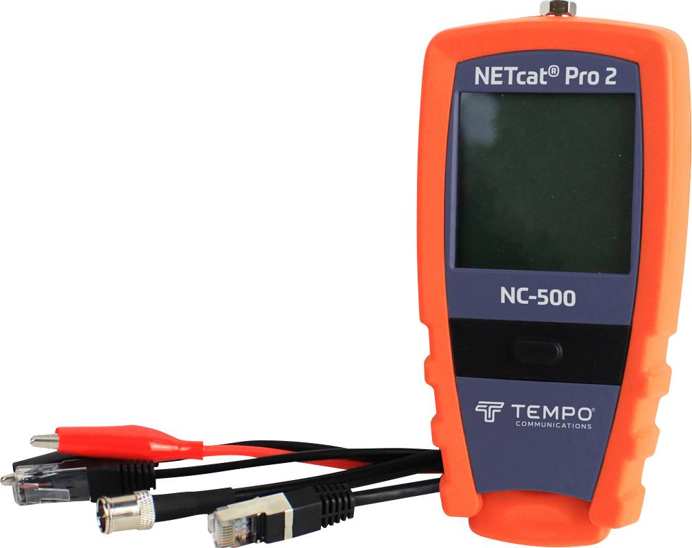 Kábeltester GreenLee NETcat Pro NC-500 2