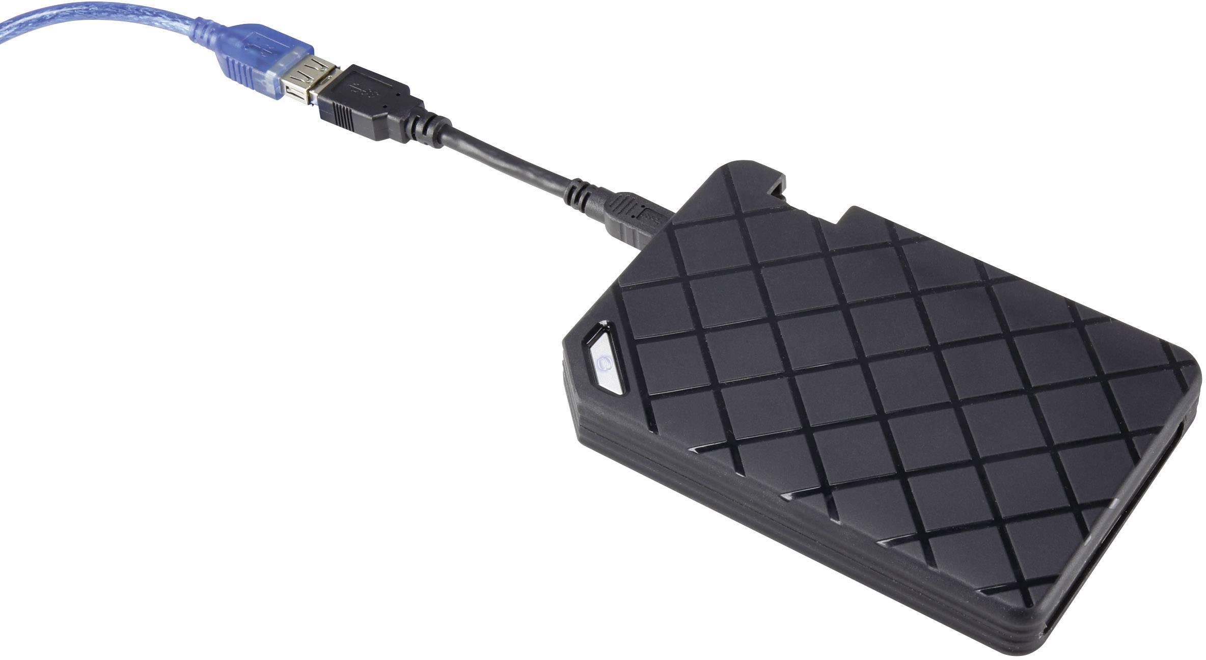 Púzdro na pevný disk SATA Renkforce, HC01, USB 3.0