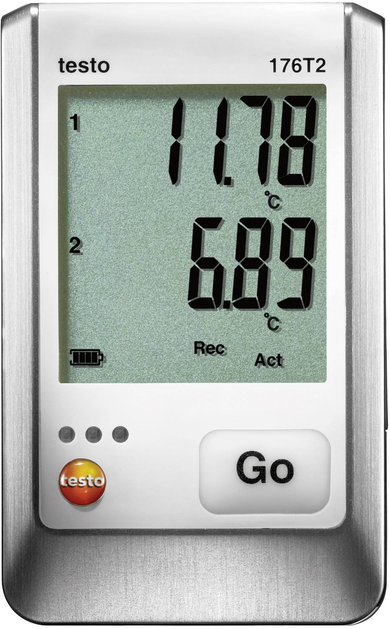 Teplotný datalogger testo 176 T2, -50 až +400 °C