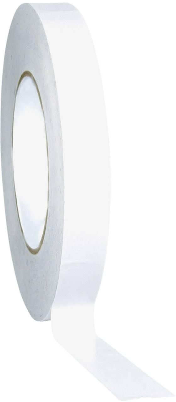 Obojstranná lepiaca páska TOOLCRAFT D031B1250C D031B1250C, (d x š) 50 m x 12 mm, priesvitná, 1 roliek