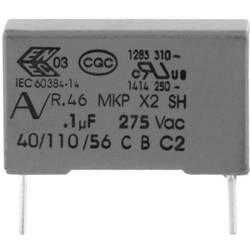 Odrušovací kondenzátor MKP radiální Kemet R46KI21500001M+, 15 nF, 275 V, 20 %, 1 ks