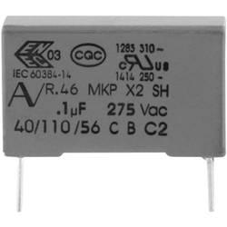 Odrušovací kondenzátor MKP radiální Kemet R46KI315000M1M+, 150 nF, 275 V, 20 %, 1 ks