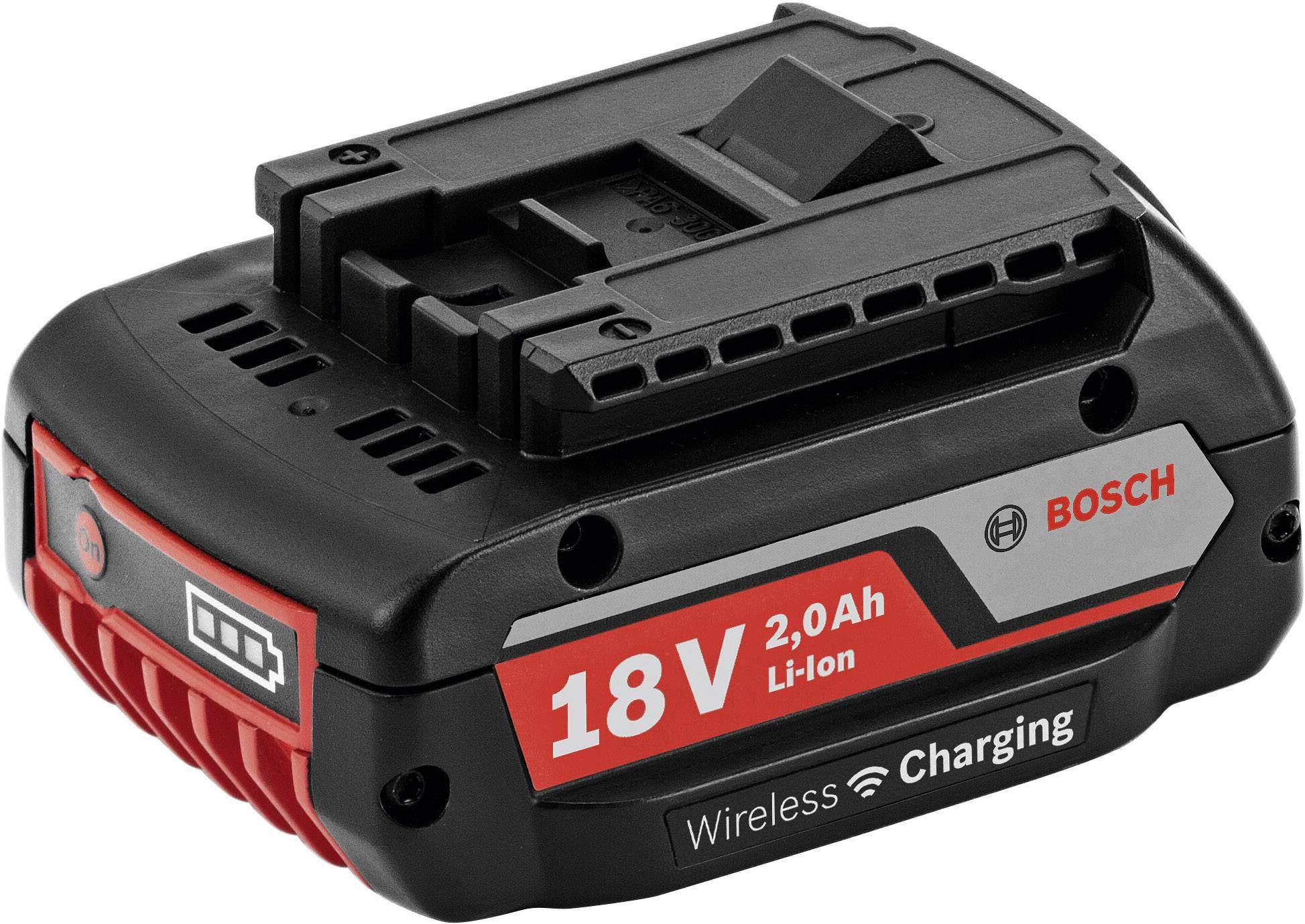 Náhradní akumulátor pro elektrické nářadí, Bosch Professional GBA 18V 1600A003NC, 18 V, 2 Ah, Li-Ion akumulátor
