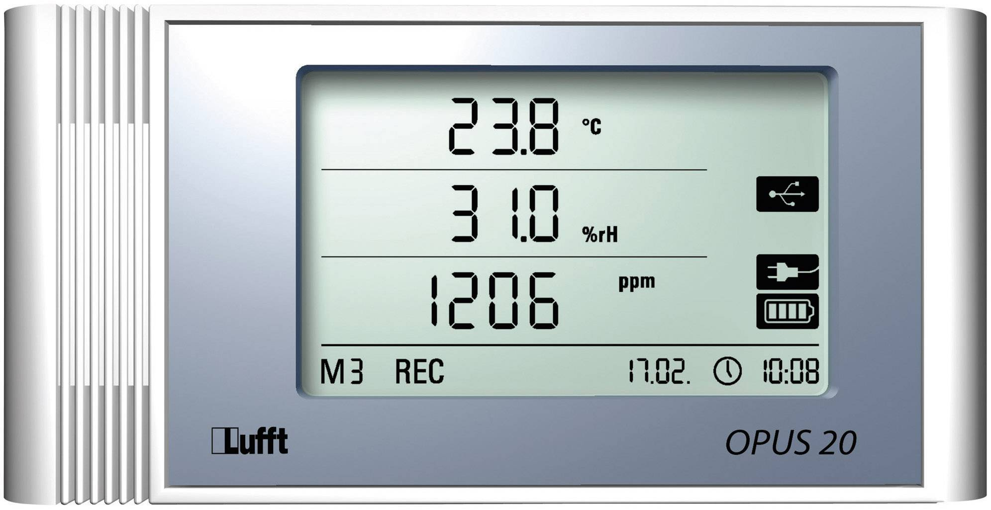 Teplotný/vlhkostný datalogger Lufft Opus20 TCO PoE, -20 až 50 °C