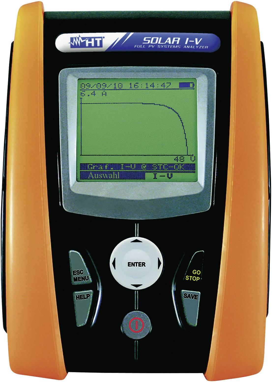 Fotovoltaický tester a analyzátor HT Instruments SOLAR IV, 1008680