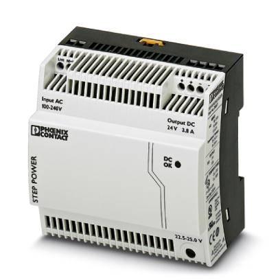 Sieťový zdroj na montážnu lištu (DIN lištu) Phoenix Contact STEP-PS/ 1AC/24DC/3.8/C2LPS, 1 x, 24 V/DC, 3.8 A, 91.2 W