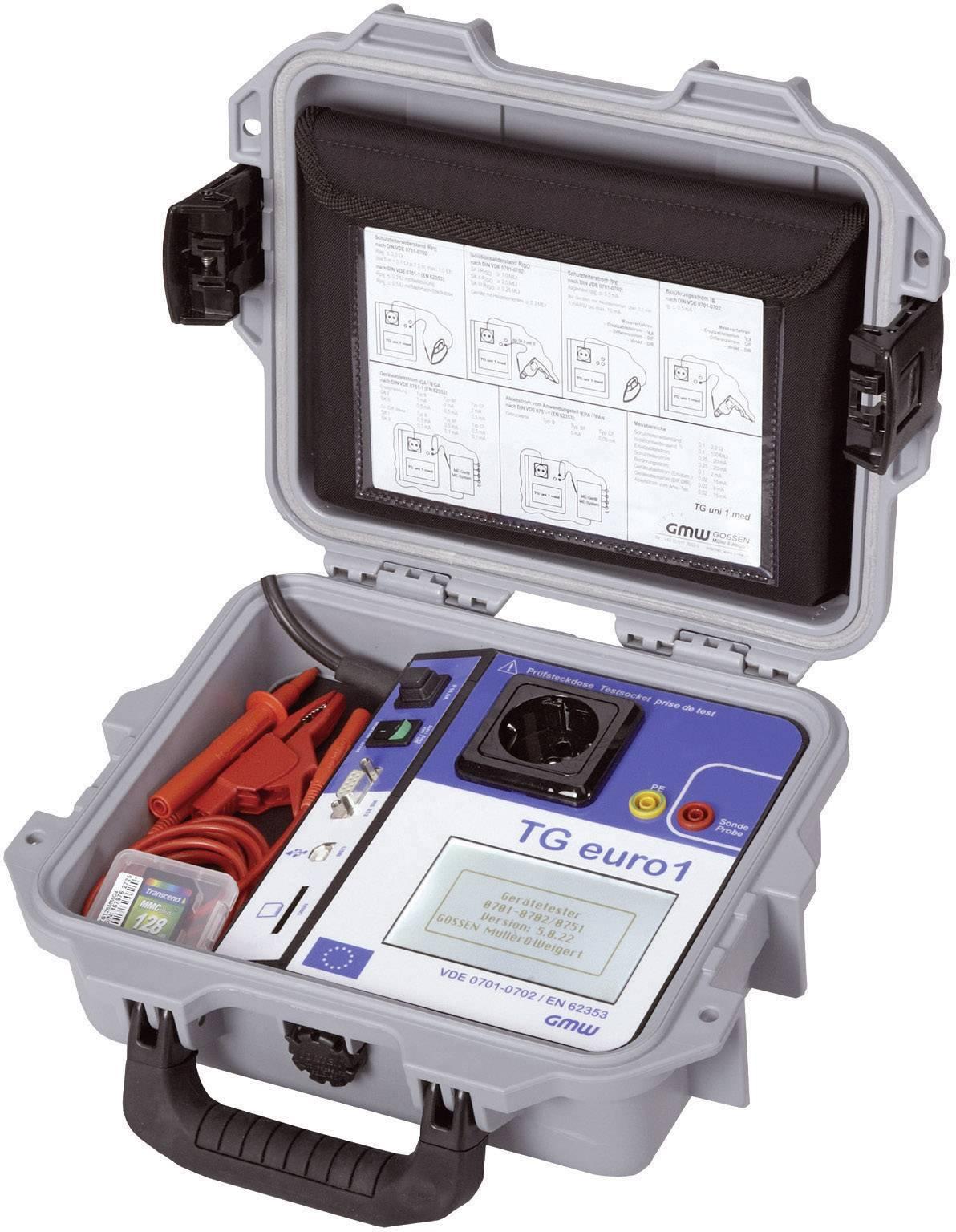 Tester spotřebičů GMW TG euro1+, 61000 00601