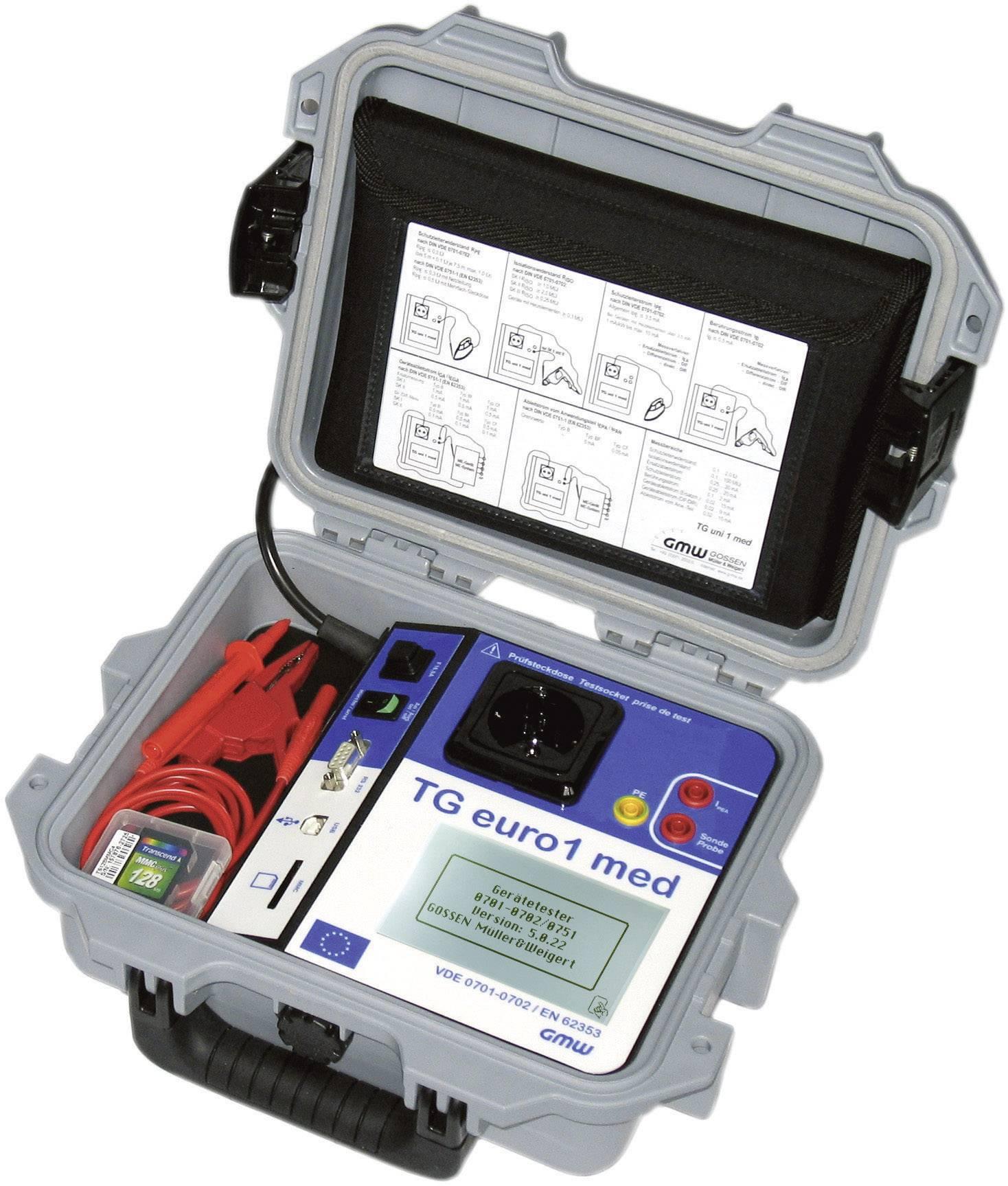 Tester spotřebičů GMW TG euro1 med+, 61000 00611
