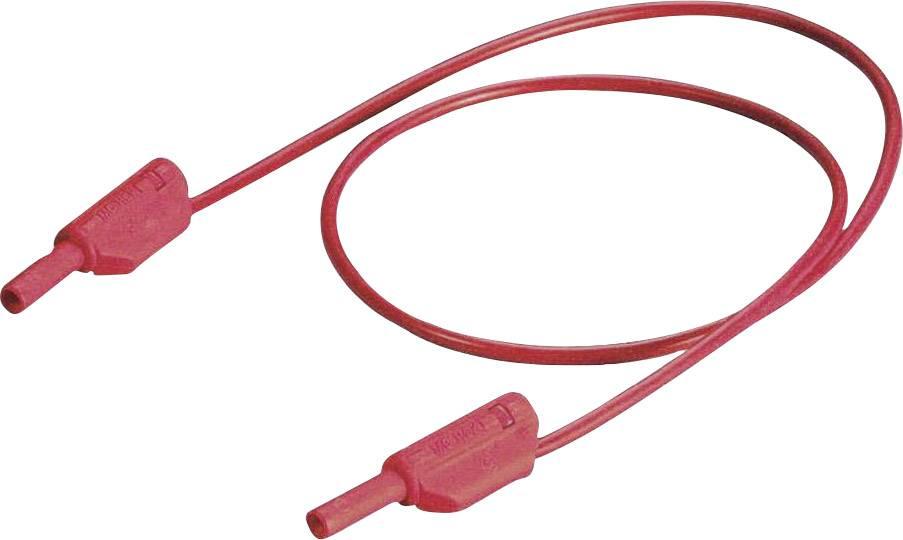 Bezpečnostný merací kábel Multicontact SLK 205, čierny