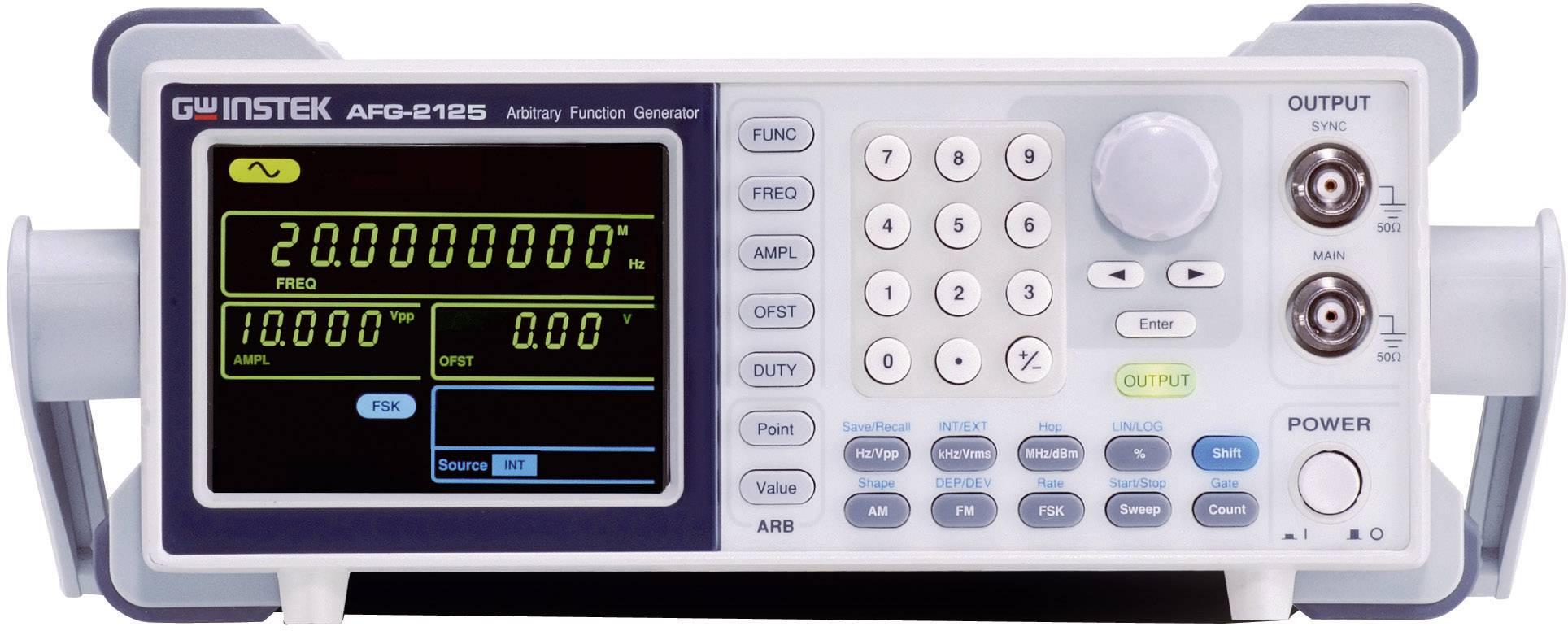 Generátor funkcí GW Instek AFG-2005, 0,1 Hz - 5 MHz