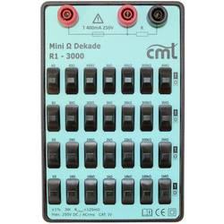 Cosinus R1-3000 Mess-Dekade, 1 Ω - 11.11111 MΩ 250 V;Kalibrováno dle (ISO)