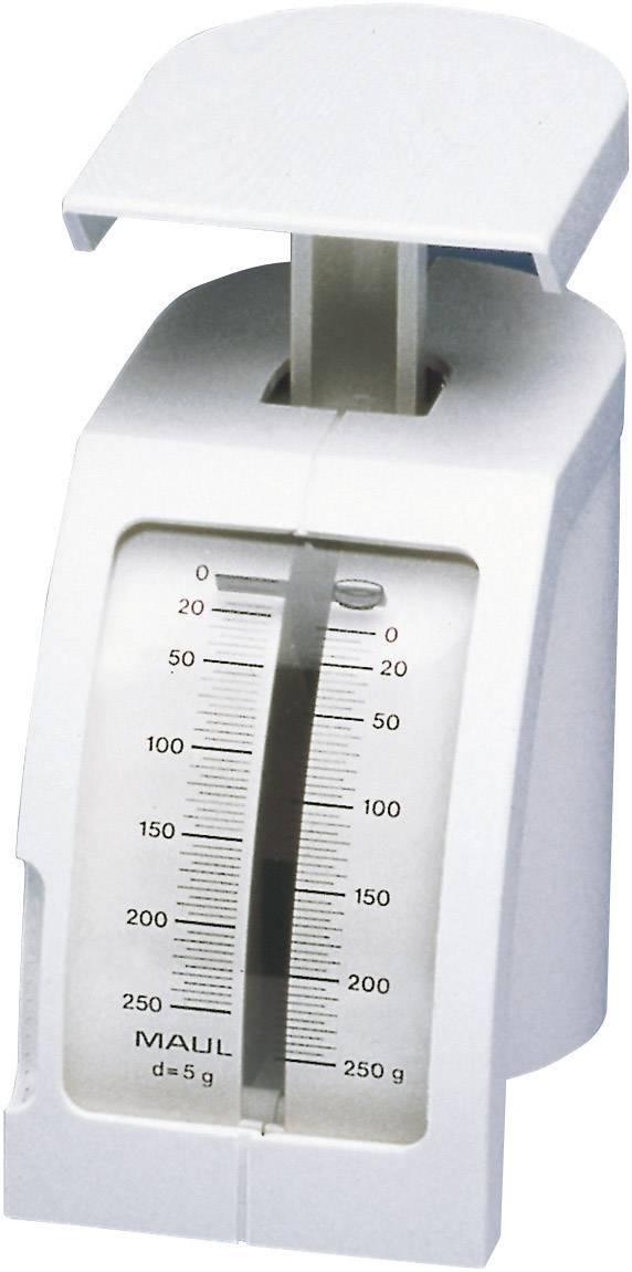 Pružinová váha Maul max.váživosť 250 g, presnosť 2 g, biela