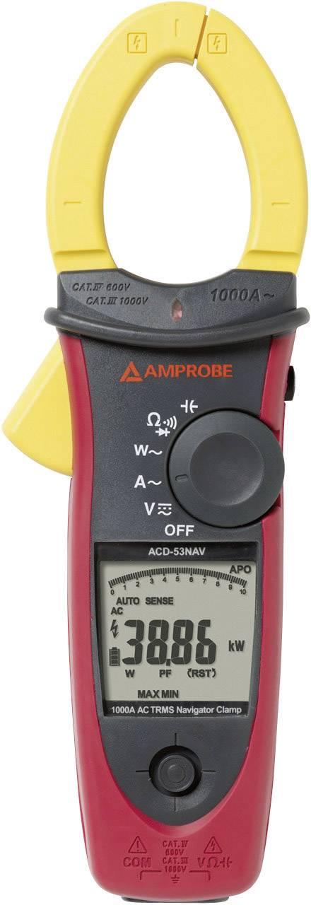 Digitálne/y prúdové kliešte, ručný multimeter Beha Amprobe ACD-53NAV 3729977