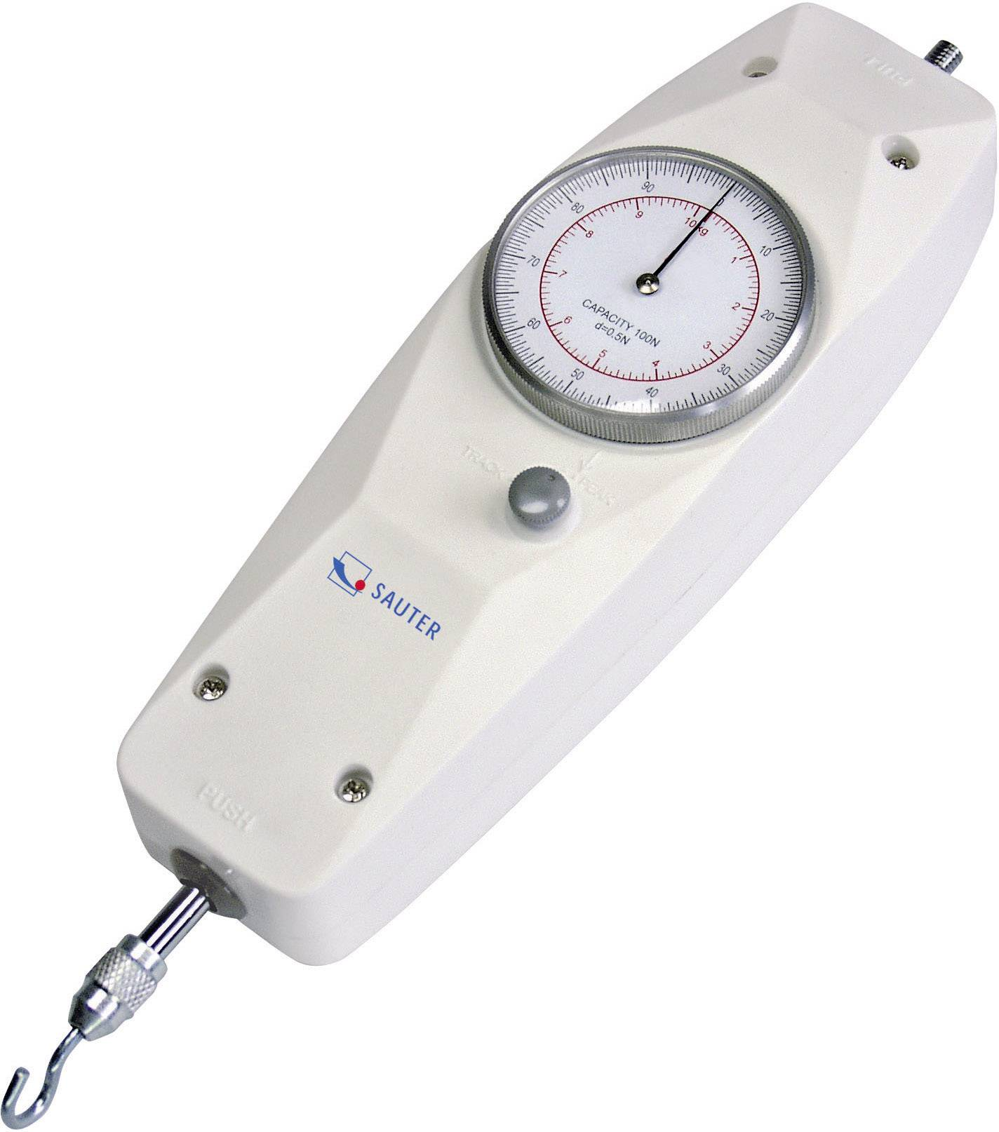Sauter FA 100. Kraftmessgerät, Newton-Meter 100 N Kalibrováno dle ISO