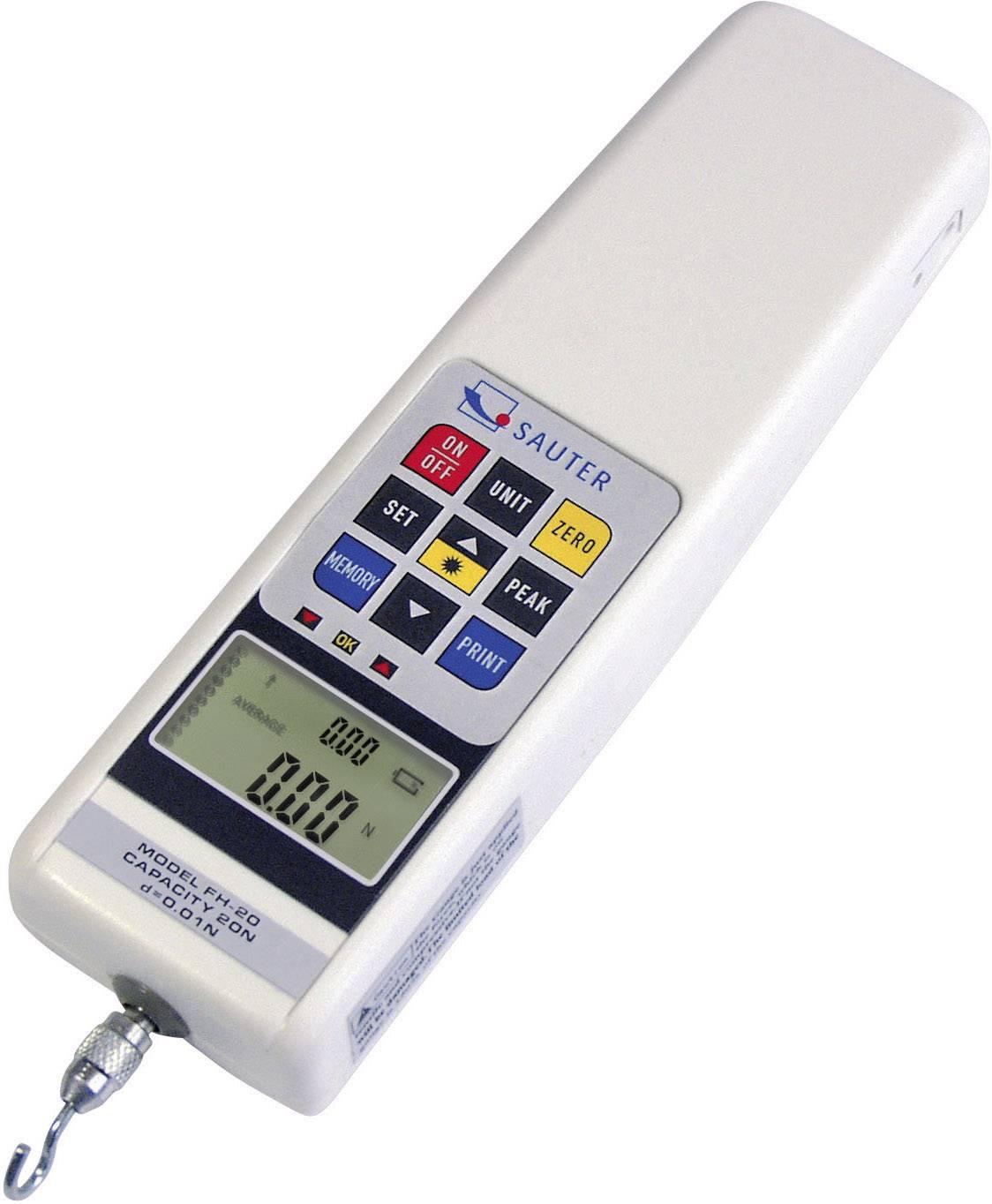 Sauter FH 500. Kraftmessgerät, Newton-Meter Kalibrováno dle ISO