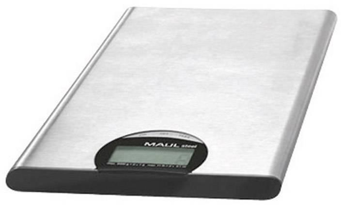 Váha na dopisy Maul MAULsteel 5000 G max. váživost 5 kg rozlišení 1 g na baterii stříbrná