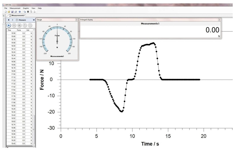 Software Sauter AFH FAST pro siloměry