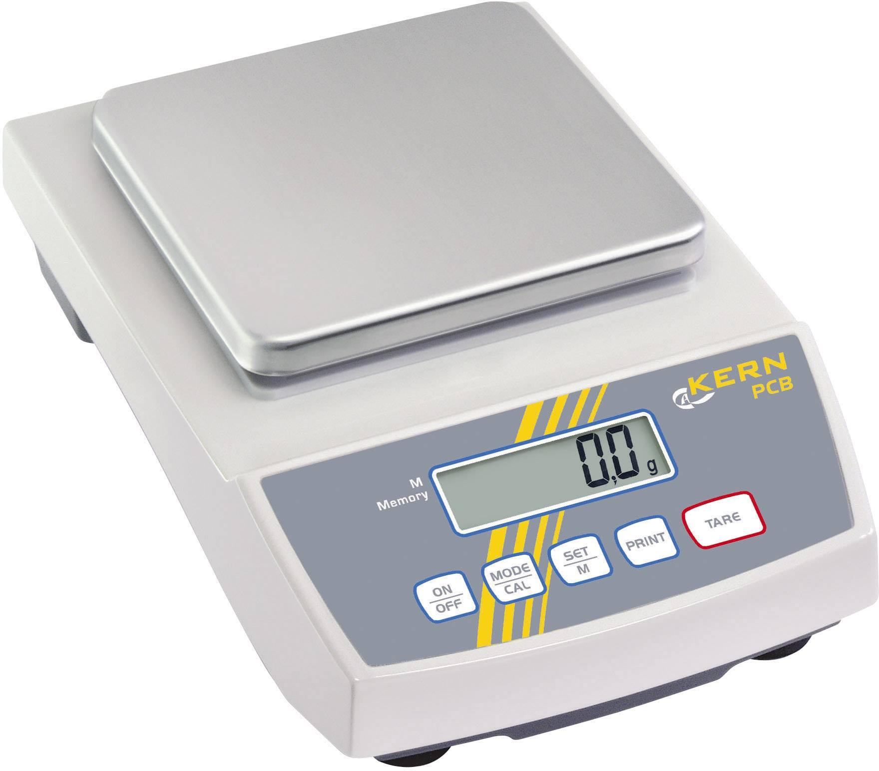 Přesná váha Kern PCB 1000-2, rozlišení 0.01 g, max. váživost 1 kg