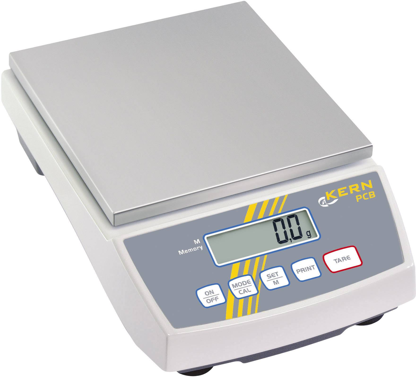 Přesná váha Kern PCB 6000-1, rozlišení 0.1 g, max. váživost 6 kg