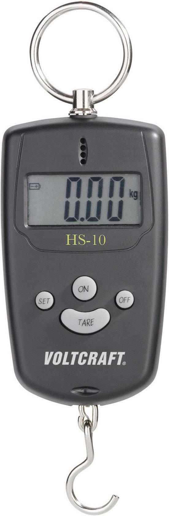 Závěsná váha VOLTCRAFT max. váživost 10 kg rozlišení 10 g