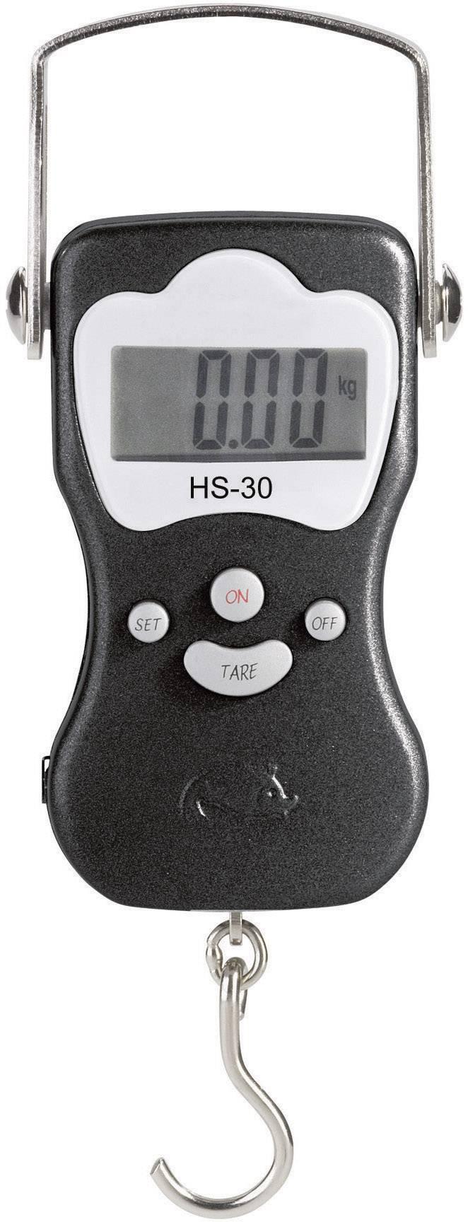 Závesná váha VOLTCRAFT HS-30, max.váživosť 30 kg, presnosť 20 g