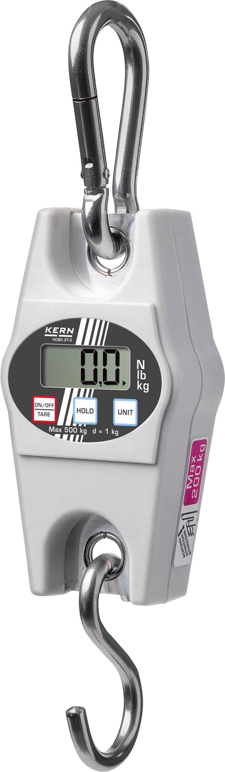 Závesná váha Kern max.váživosť 50 kg, presnosť 20 g
