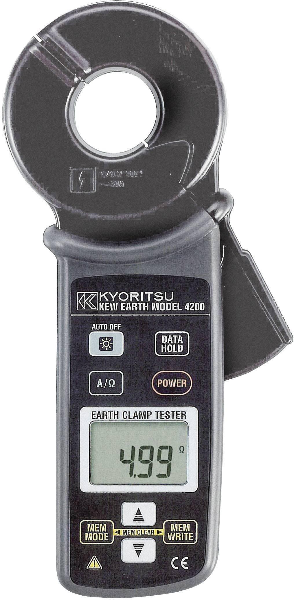 Kliešte na testovanie uzemnenia Kyoritsu KEW 4200