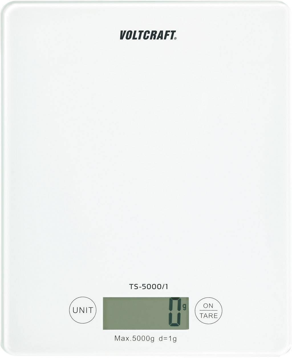 Stolná váha Voltcraft TS-5000, 5 kg/1 g