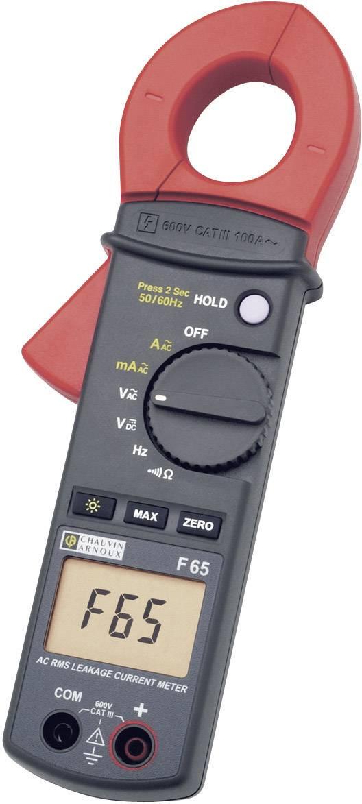 Klešťový multimetr Chauvin Arnoux F65, AC/DC