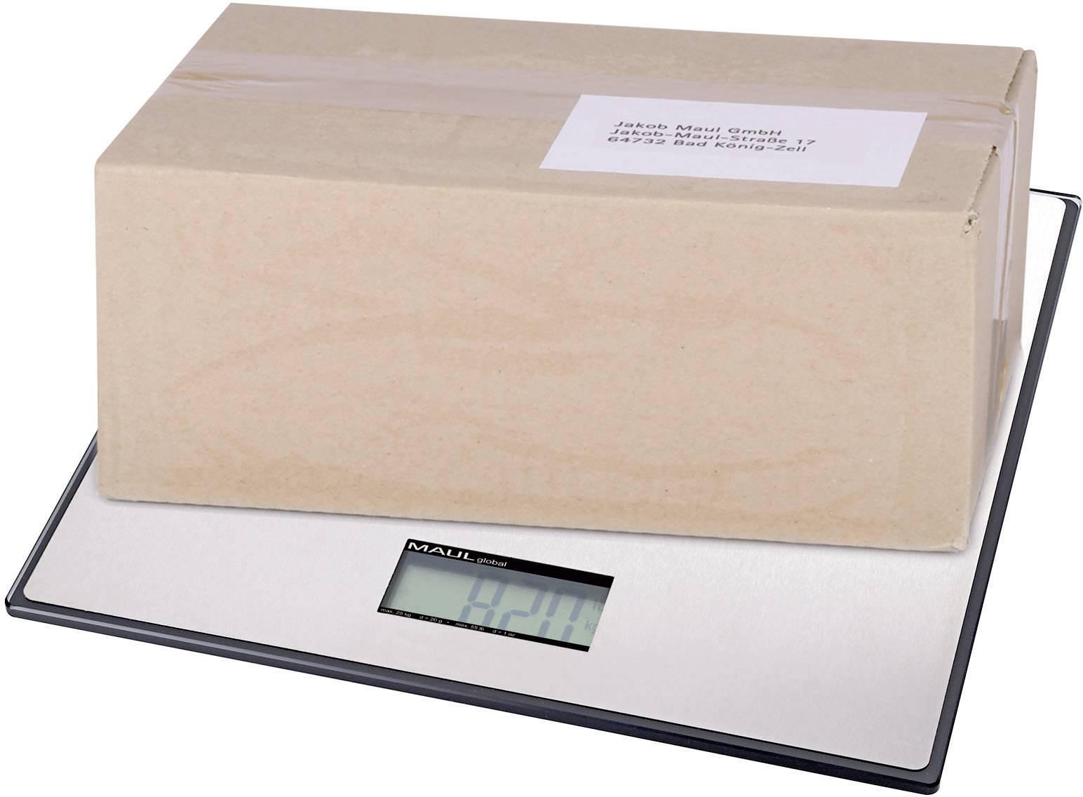 Balíková váha Maul MAULglobal 17150, max.váživosť 50 kg, strieborná