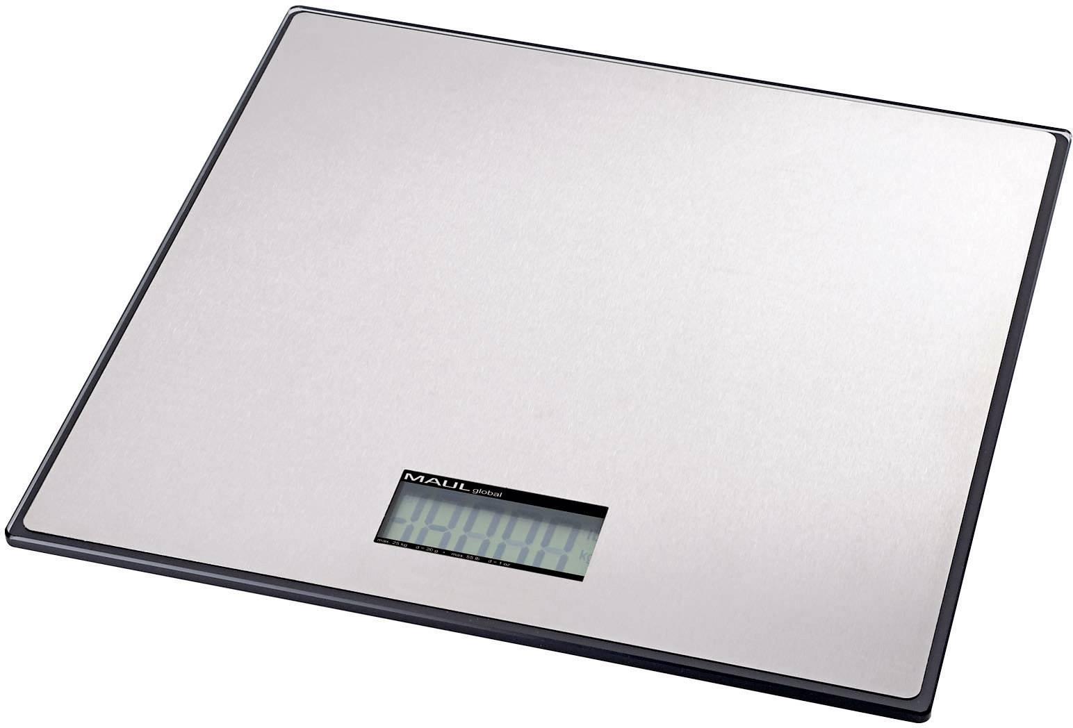 Balíková váha Maul 1719190, max.váživosť 100 kg, strieborná