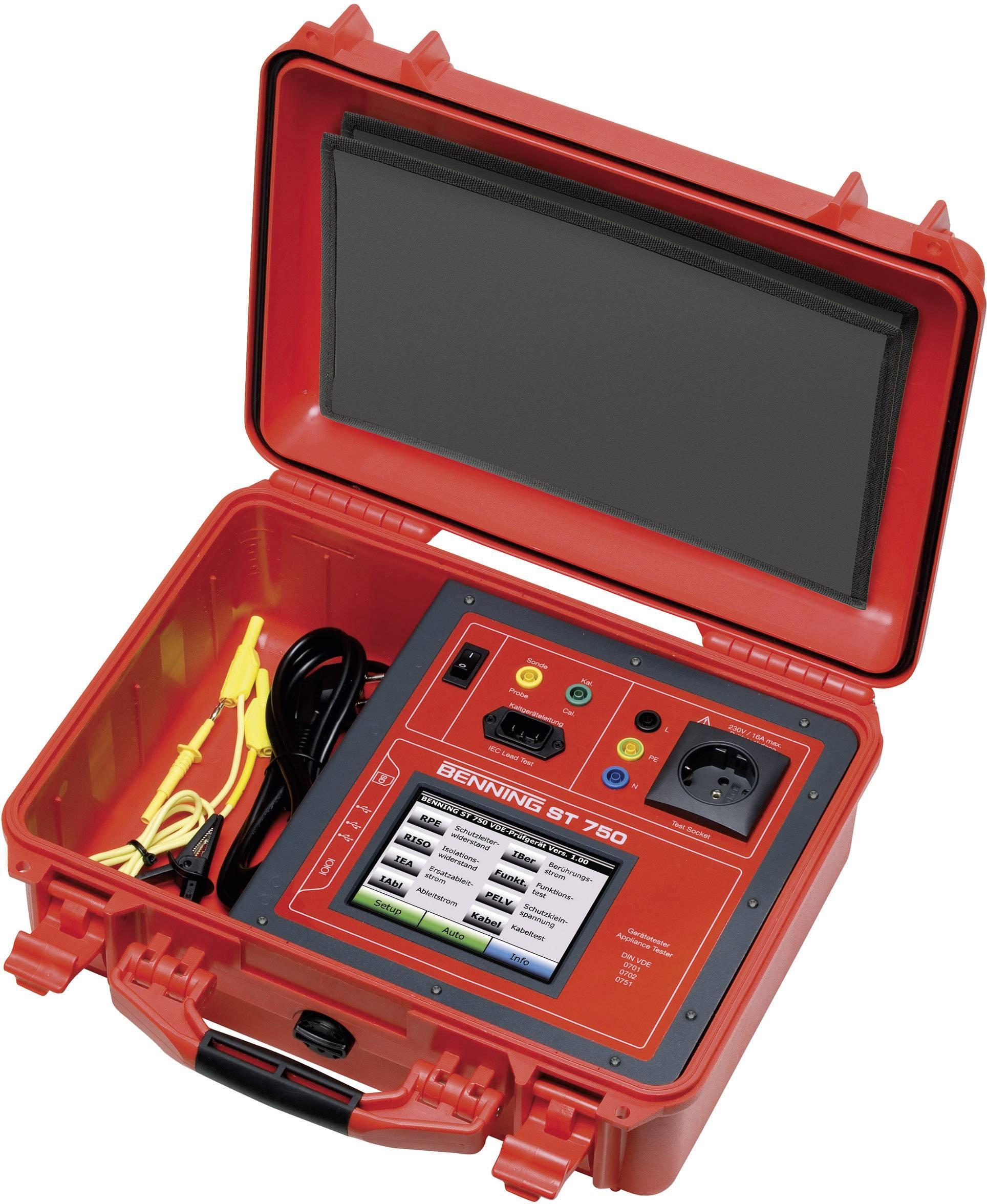 Sada VDE testeru Benning ST 750 A, 050321
