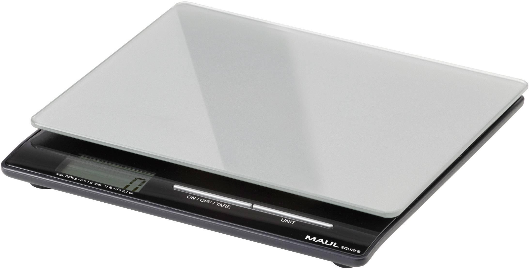 Váha na listy Maul MAULsquare 5000 g 166 45, max.váživosť 5 kg, strieborná